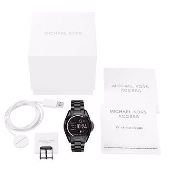 dccd2672fa5a2 Ourivesaria Atlantis   Smartwatch Michael Kors MKT5005
