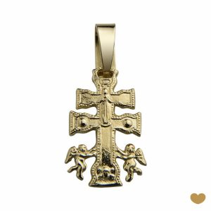 Cruz Carava ouro 19k